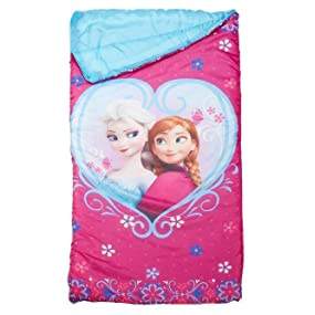Amazon Com Disney Frozen Anna And Elsa Slumber Bag 30 X