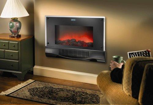 Bionaire Electric Fireplace Heater With Remote Control