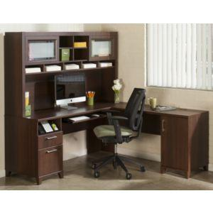 bush bush furniture desk office desk desk and hutch achieve bush office furniture amazon