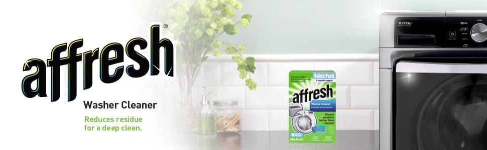 Amazon.com: Affresh Washer Machine Cleaner, 6-Tablets, 8.4 ...
