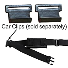 Saddlebag Car Clips