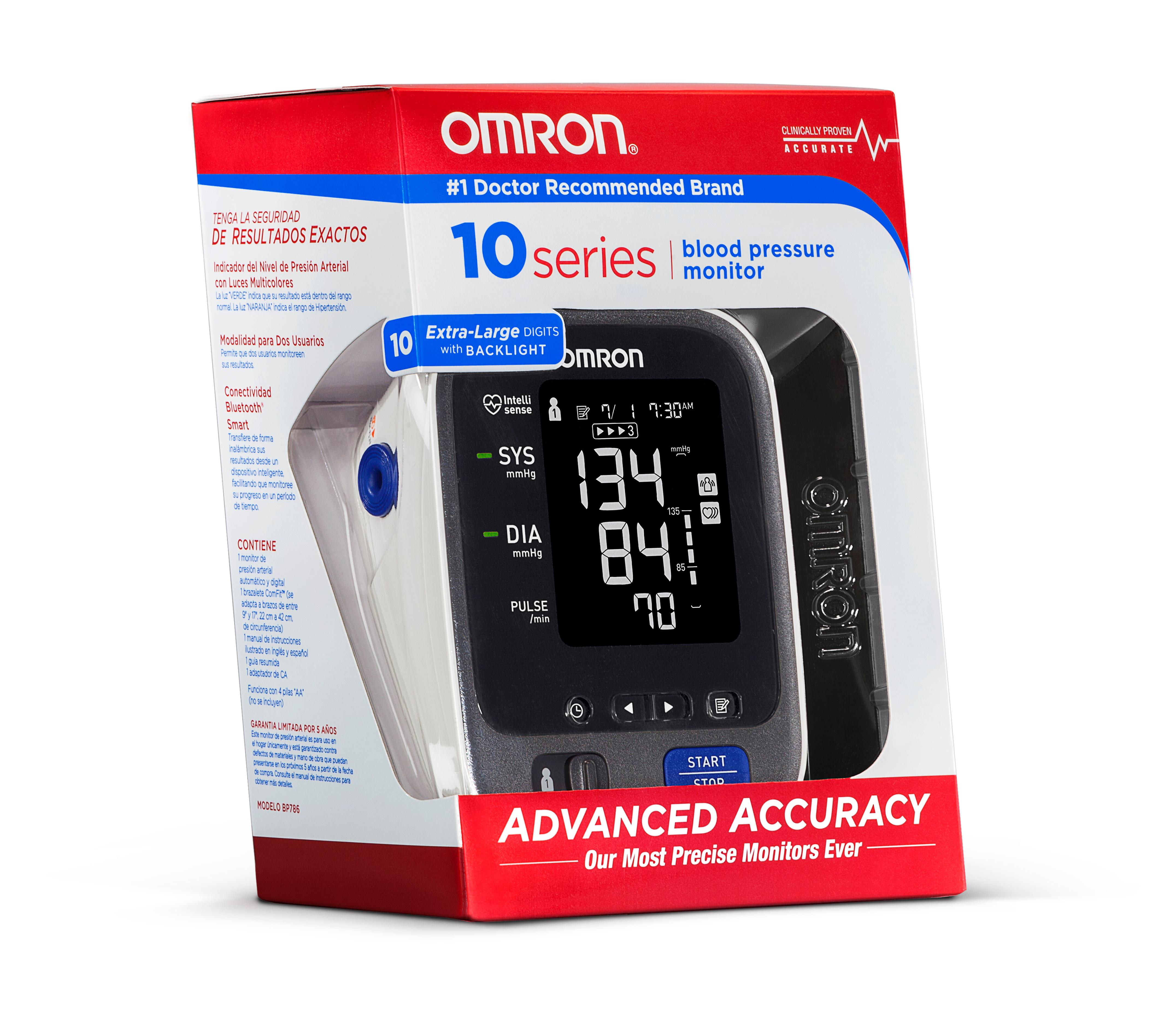 Just Home Medical Omron 10 Series Upper Arm Blood Manual Guide