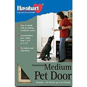 Havahart Medium Aluminum Dog Door