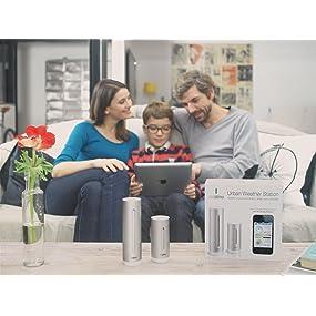 family health, weather station, CO2, asthma, home health, apps, apple, andois, ios, windows, ipad