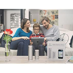 family health, weather station, CO2, asthma, home health, apps, apple, andois, ios, windows, ipad