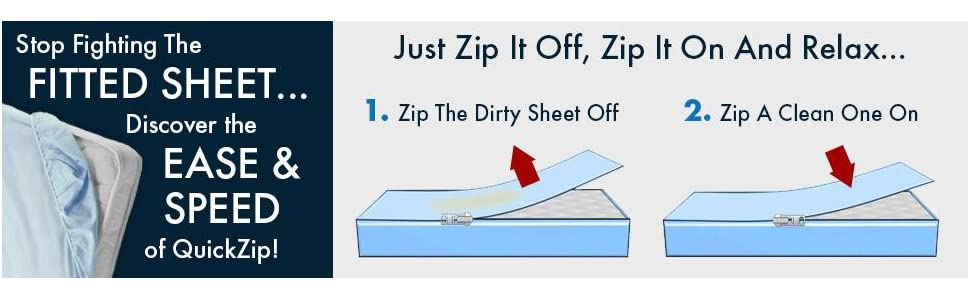 QuickZip crib sheets, crib sheets, easy to change crib sheets