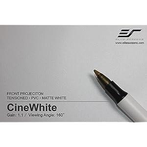 cinewhite, projection screen, cinewhite screen, White projection screen