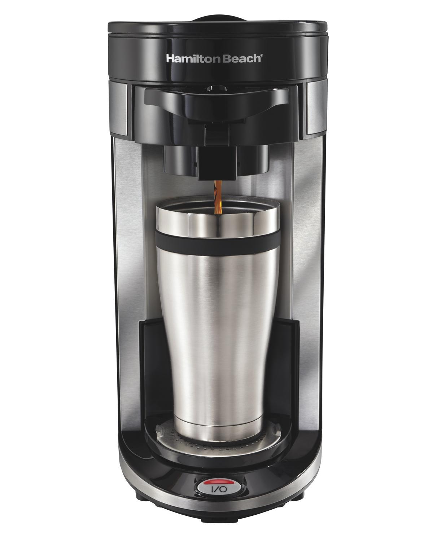 Best Coffee Maker For K Cups : Amazon.com: Hamilton Beach Single-Serve Coffee Maker, FlexBrew (49999A): Single Serve Brewing ...
