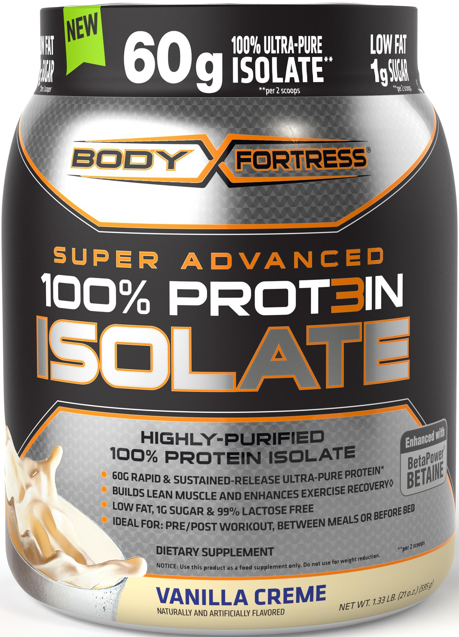 Body fortress super advanced whey protein isolate