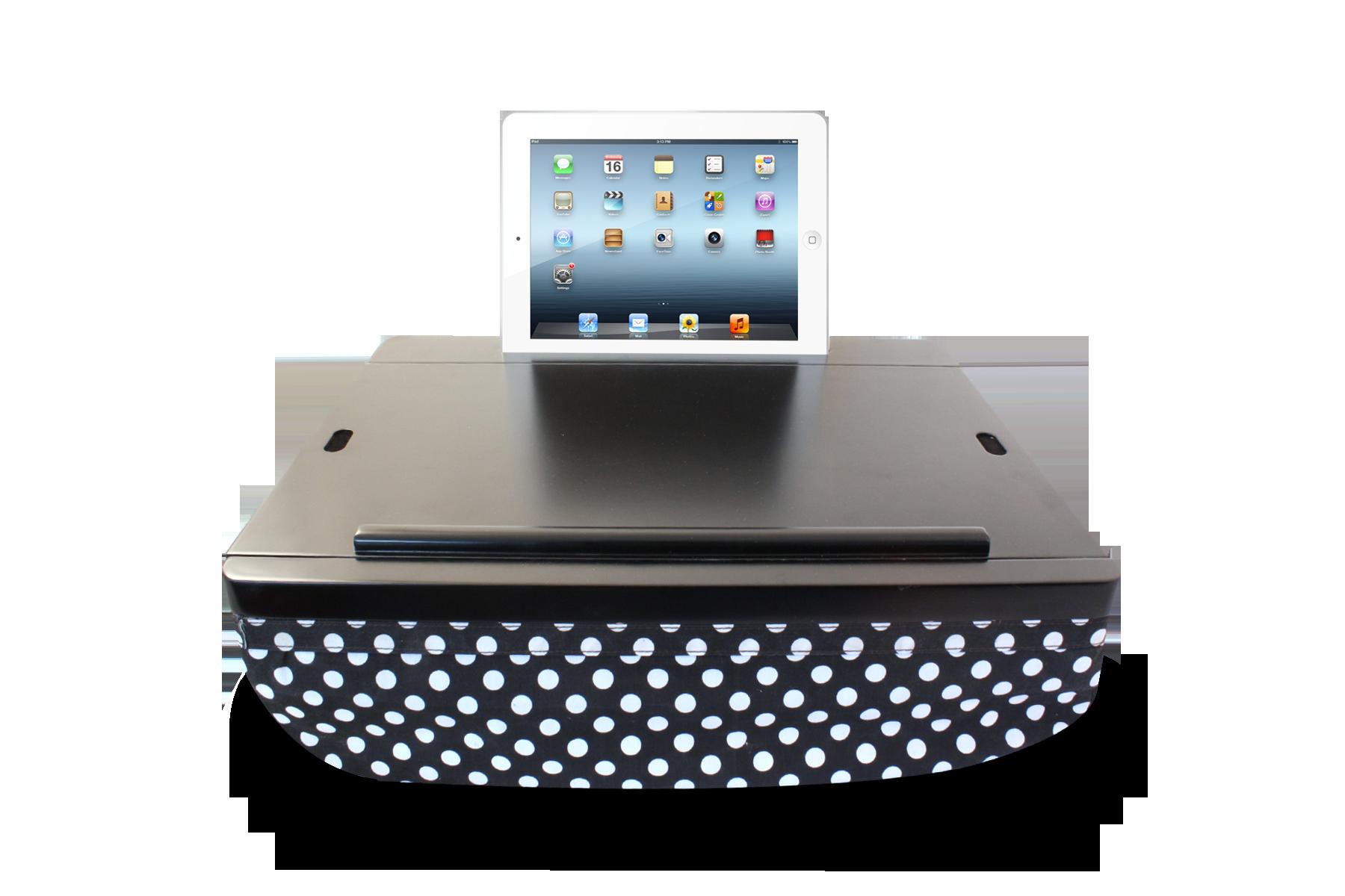 Amazon Com Life Made Icozy Dorm Lap Desk Lcozd01 R Bkpd