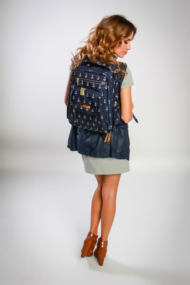 Ju ju be nautical legacy collection be right back backpack diaper bag