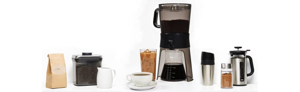 Oxo Coffee Maker Warranty : Amazon.com: OXO Good Grips Cold Brew Coffee Maker, Clear/Grey: Kitchen & Dining