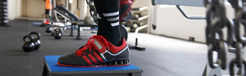 Amazon.com: adidas Performance Adipower Weightlifting Trainer Shoe