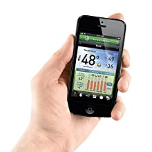 weather station app, mobile app for weather, android weather station, iphone weather station