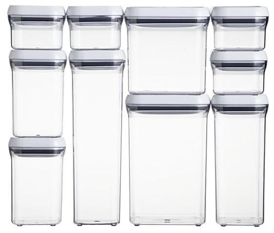 Oxo Good Grips Pop Square 0 3 Quart Storage Container Kitchen Storage And