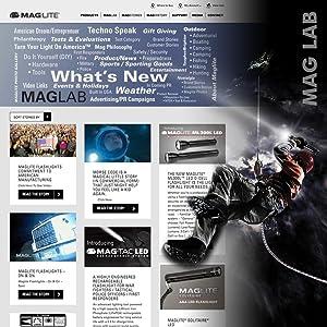 Maglite, USA, ONLINE, MAGLAB, NEWS