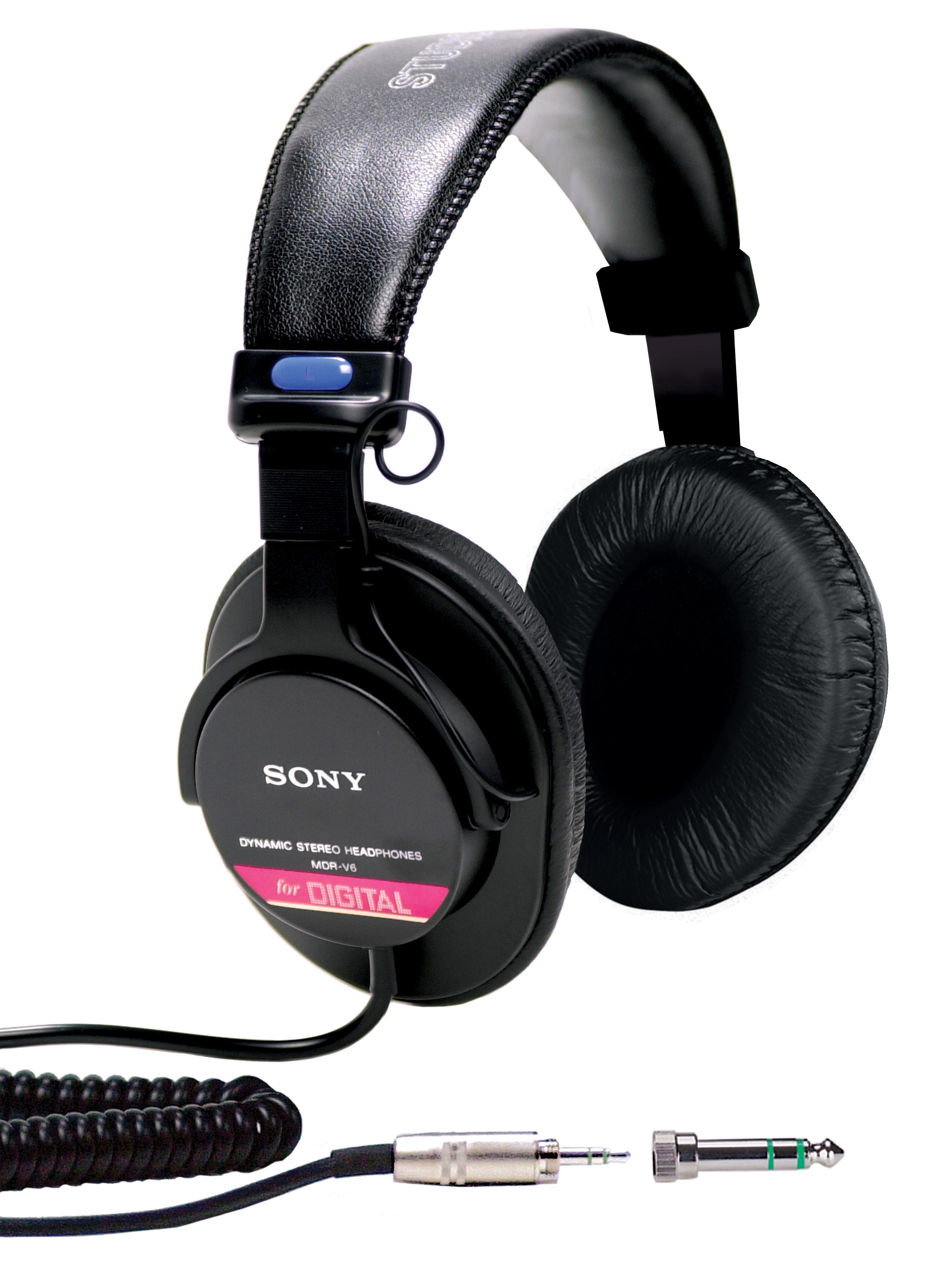 Amazon Com Sony Mdrv6 Studio Monitor Headphones With Ccaw