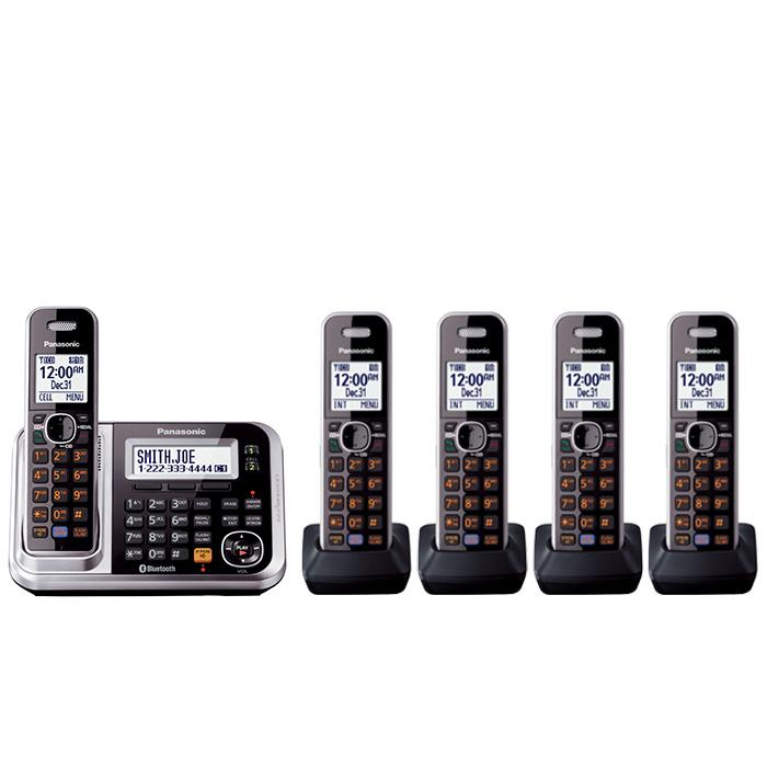 Bluetooth Enabled Phone, Black/Silver : Telephones : Office Products