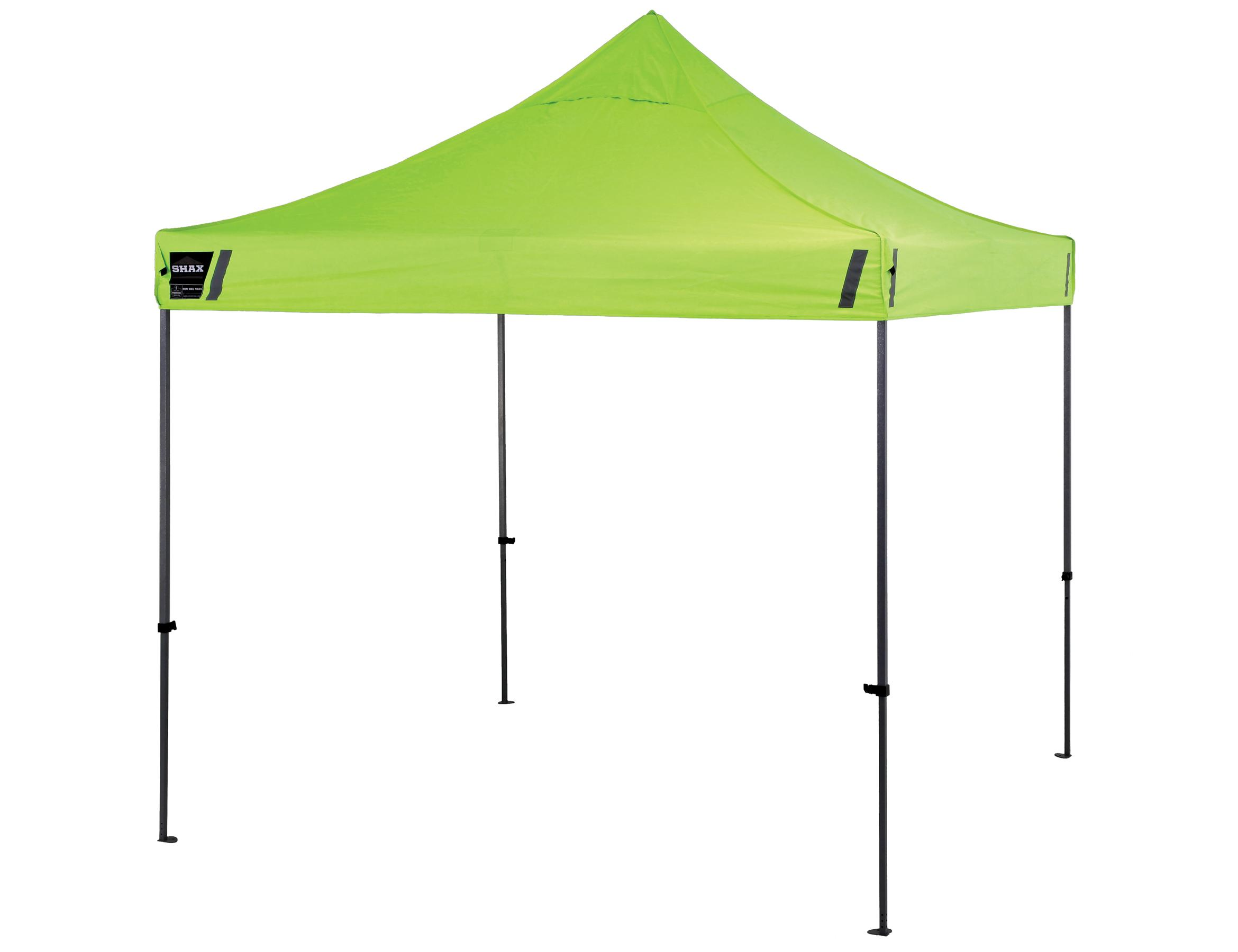 ergodyne shax 6000 heavy duty commercial pop up tent lime home improvement. Black Bedroom Furniture Sets. Home Design Ideas