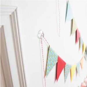 Command Party Ceiling Hooks 3 Hooks 4 Strips