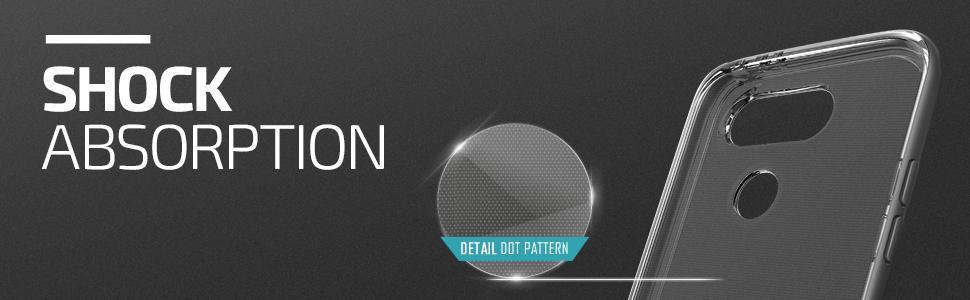 LG G5 Case, VRS Design Crystal Bumper Series