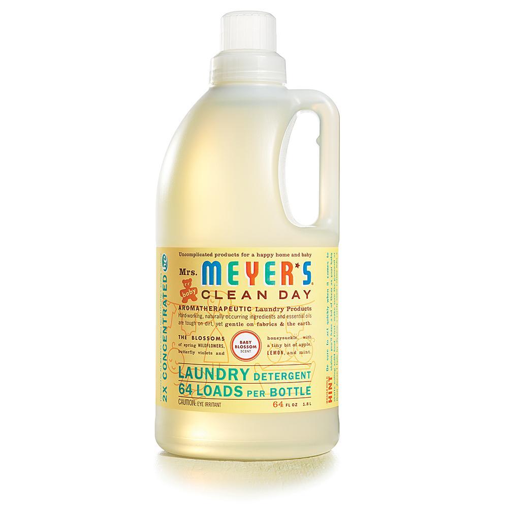 Amazon Mrs Meyer s Clean Day Laundry Detergent