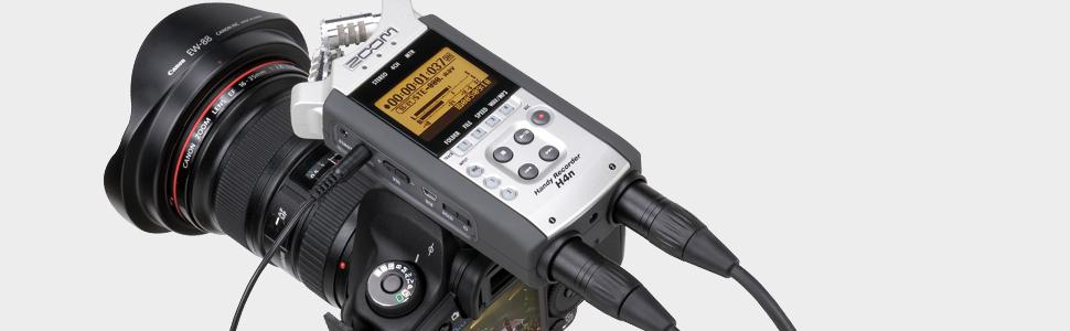 Amazon Com Zoom H4n Handy Portable Digital Recorder