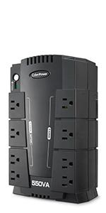 CP550SLG Battery Backup UPS