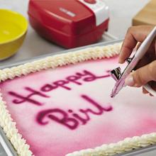How To Clean Cake Decorating Airbrush : Create colorful backgrounds, or airbrush over stencils ...
