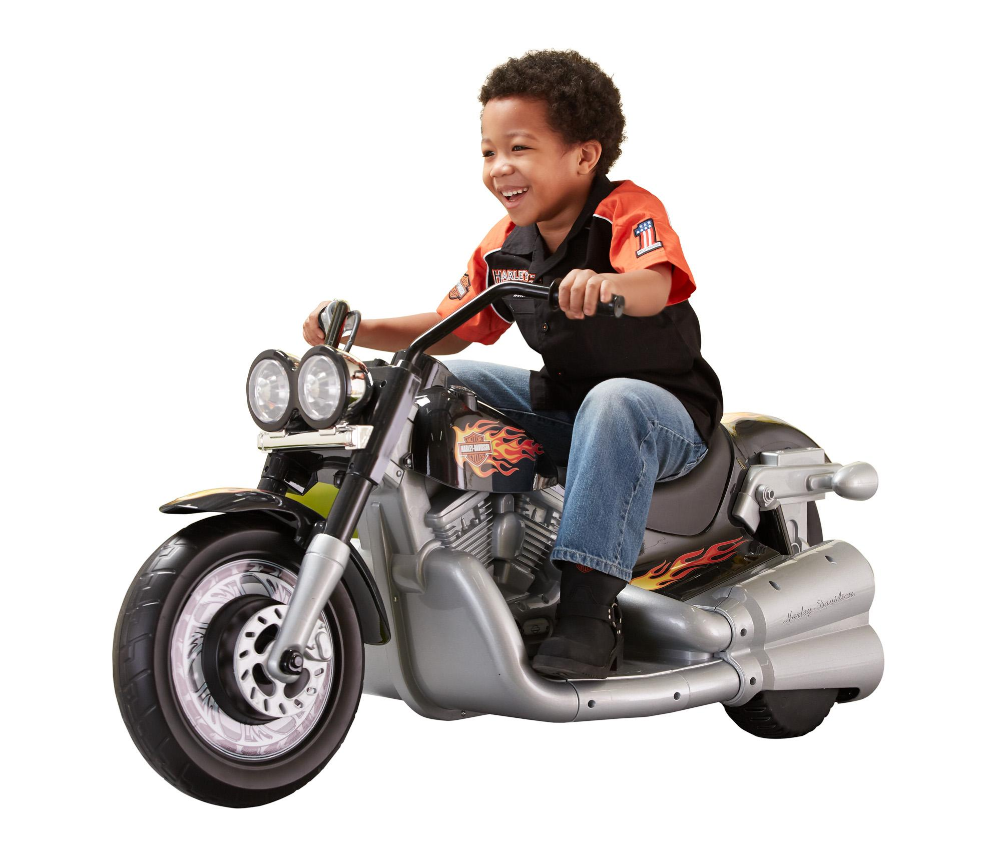 Amazon Com Fisher Price Power Wheels Harley Davidson