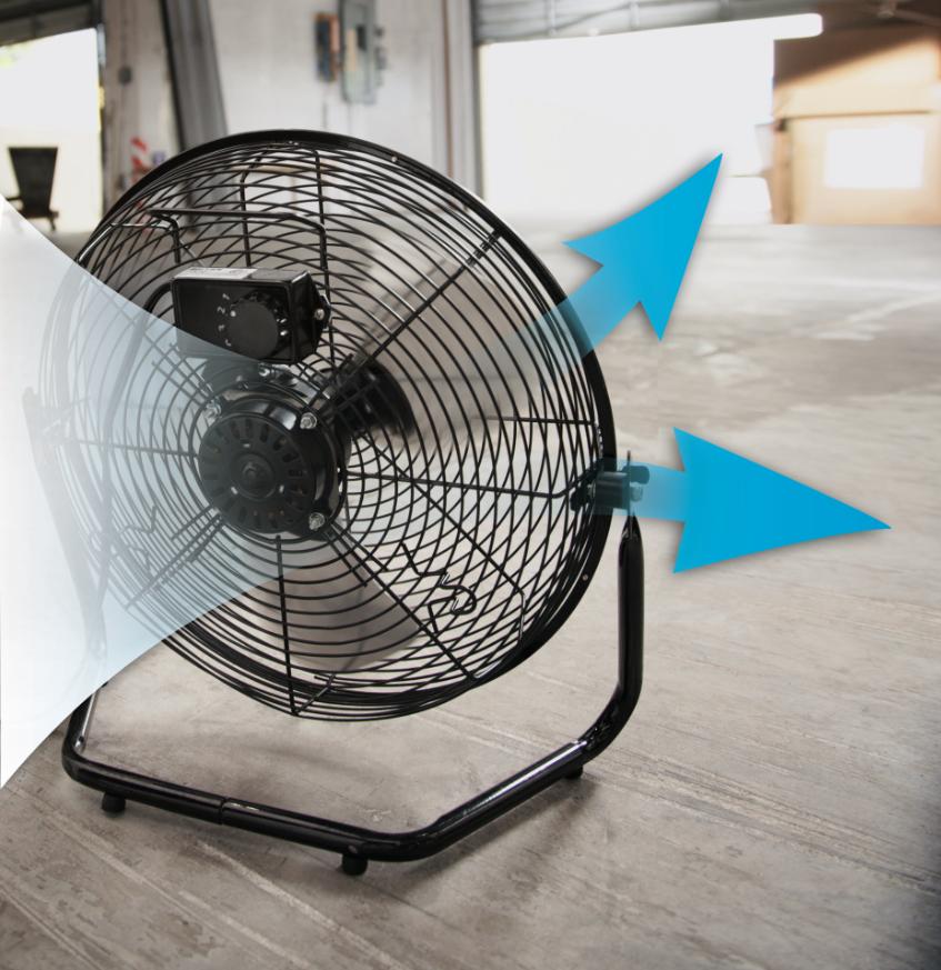 3 Prong Plug Desk Fan : Amazon patton inch high velocity fan puf c bm