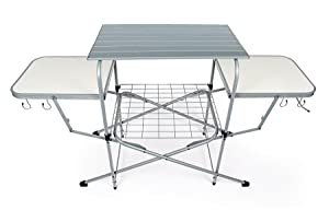 Camco 57293 deluxe grilling table automotive - Table barbecue integre ...