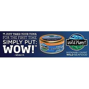 Non GMO, gluten free, tuna, troll caught, sustainable