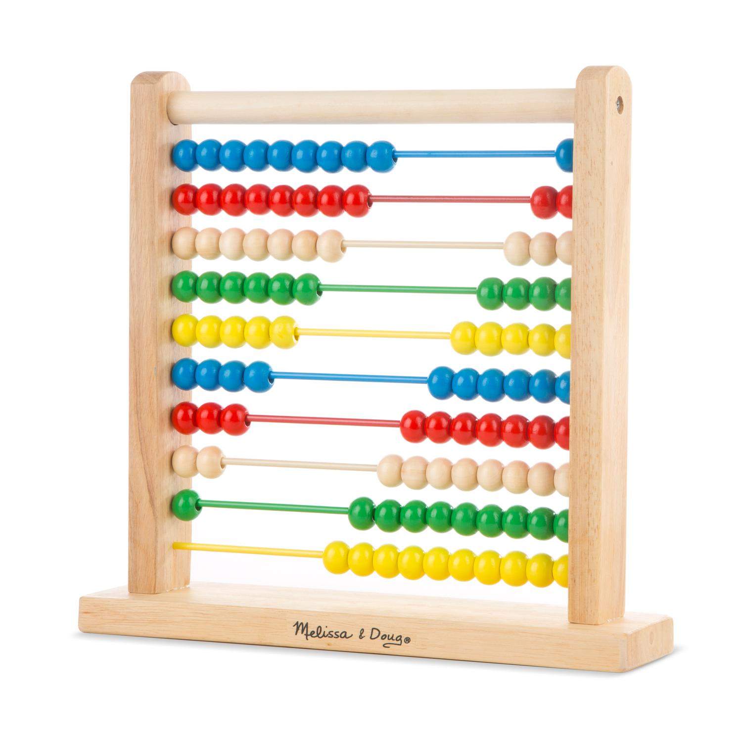 Toys And Games : Amazon melissa doug classic wooden abacus