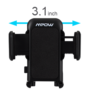 Mpow cd slot car mount universal cell phone holder 10