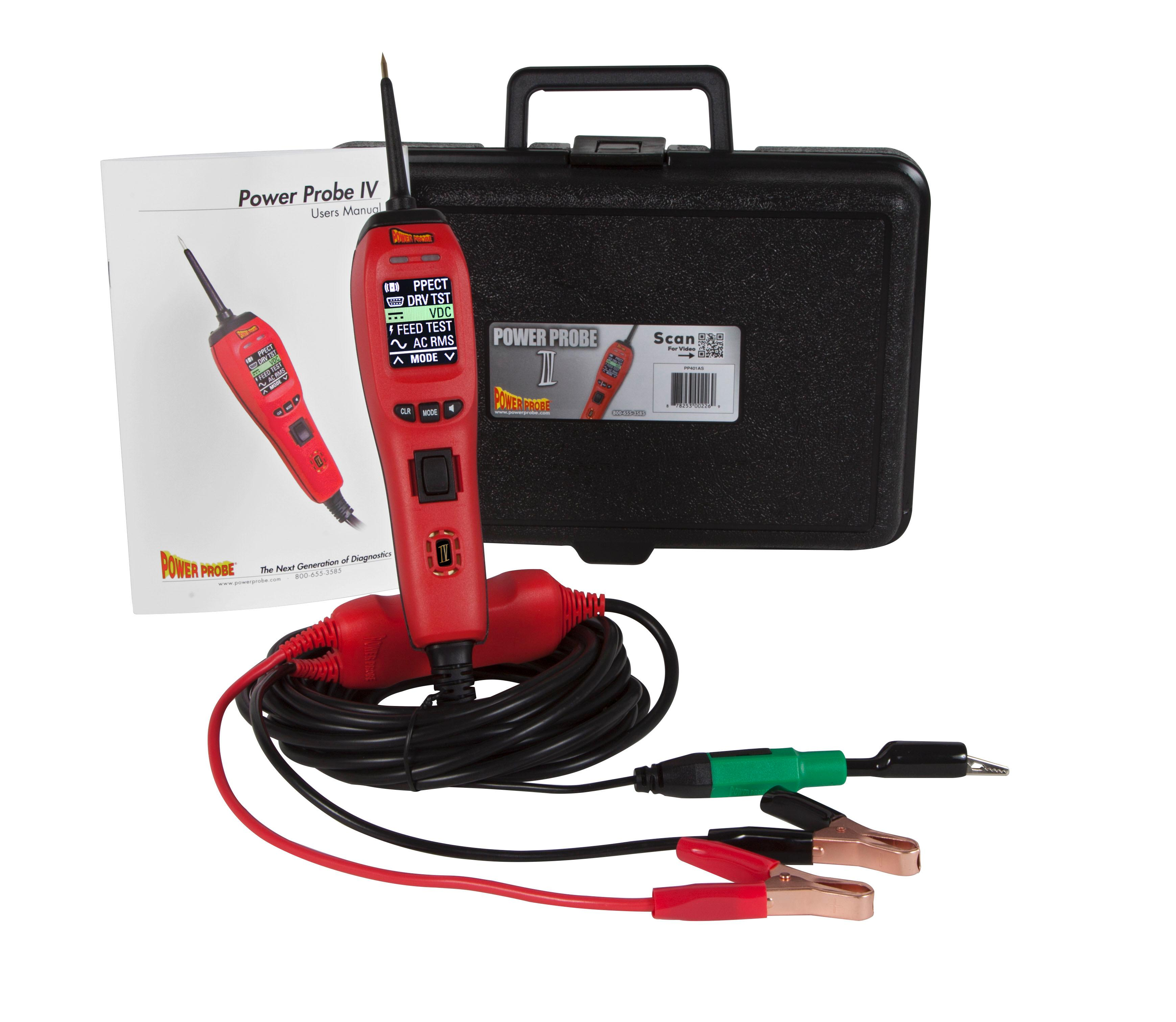 The Power Probe IV with hard carry case