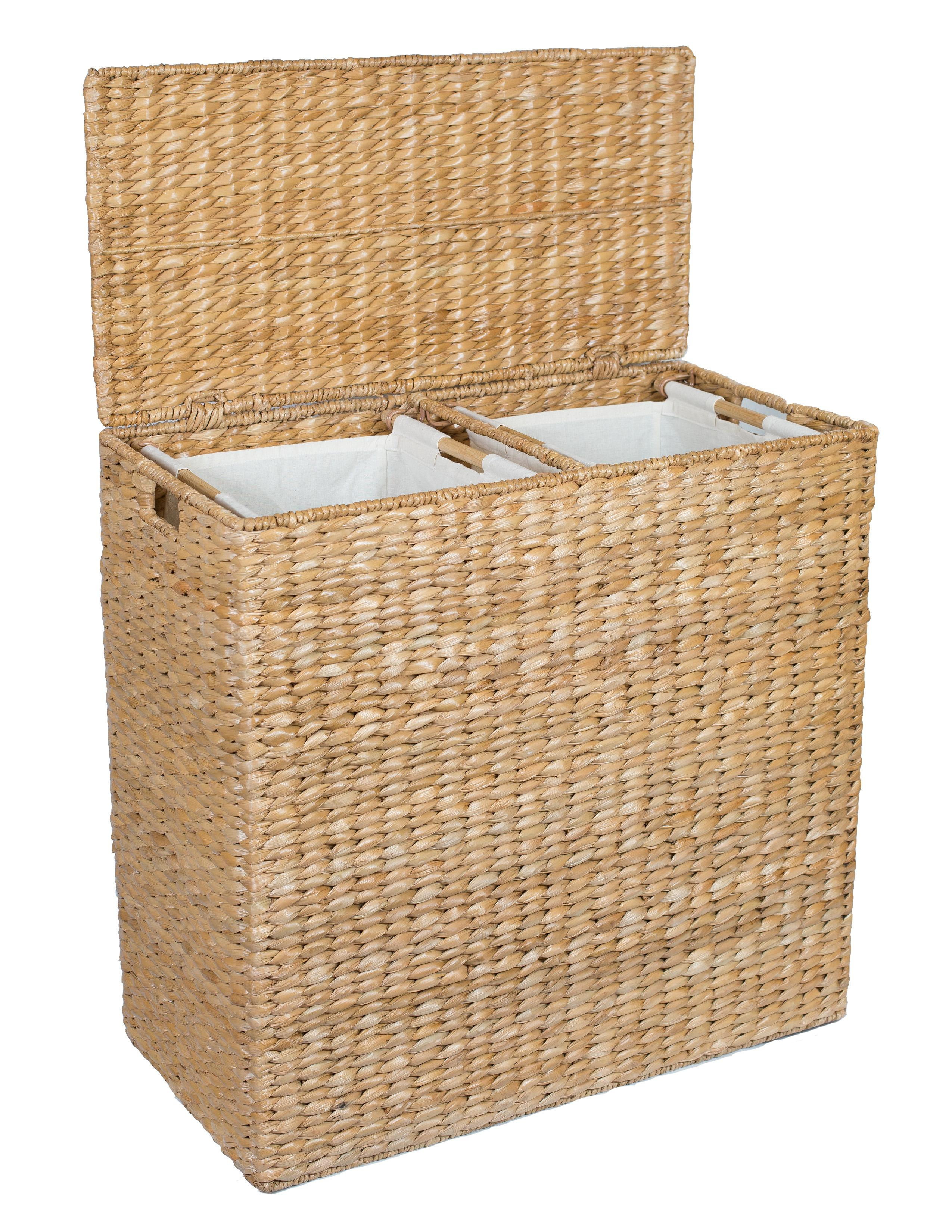 Hamper laundry hamper clothes hamper seagrass hamper wicker hamper wicker clothes hamper - Wicker hampers with liners ...