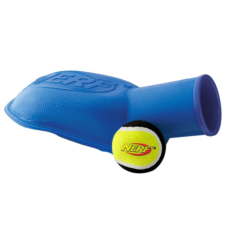 Amazon.com : Nerf Dog Tennis Ball Stomp Launcher, 12-Inch, Blue : Pet
