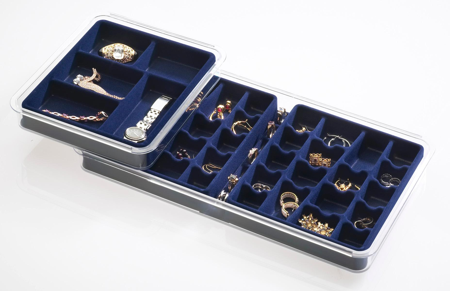 Amazon Com Neatnix Jewelry Stax 36 Compartment Organizer