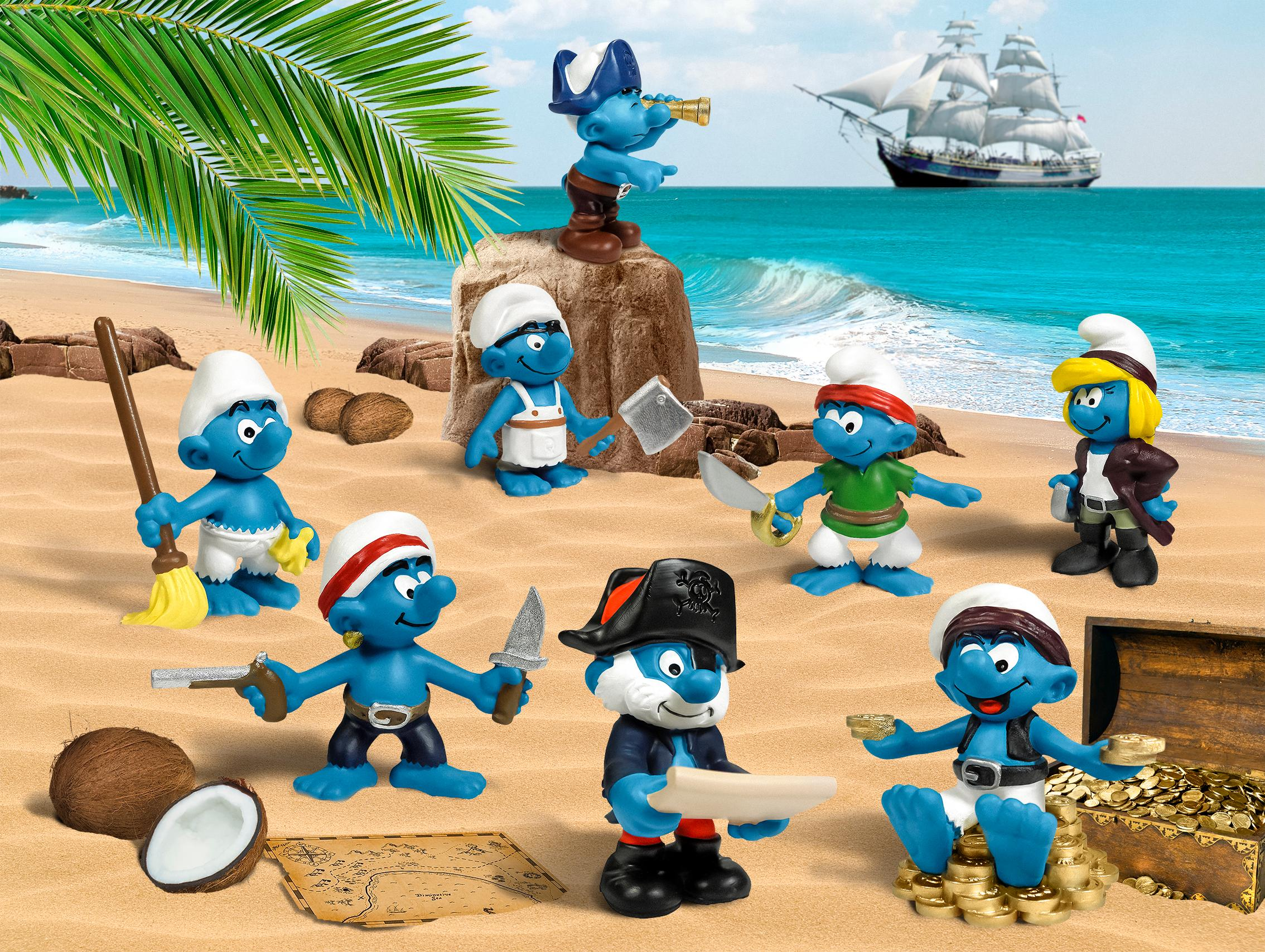 Amazon.com: Schleich Smurfs Large House: Toys & Games