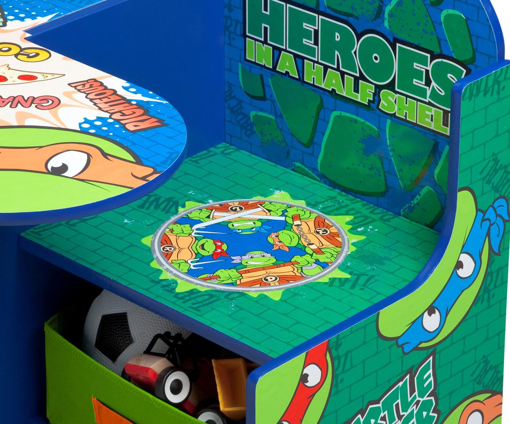 Amazon Com Delta Children Chair Desk With Storage Marvel