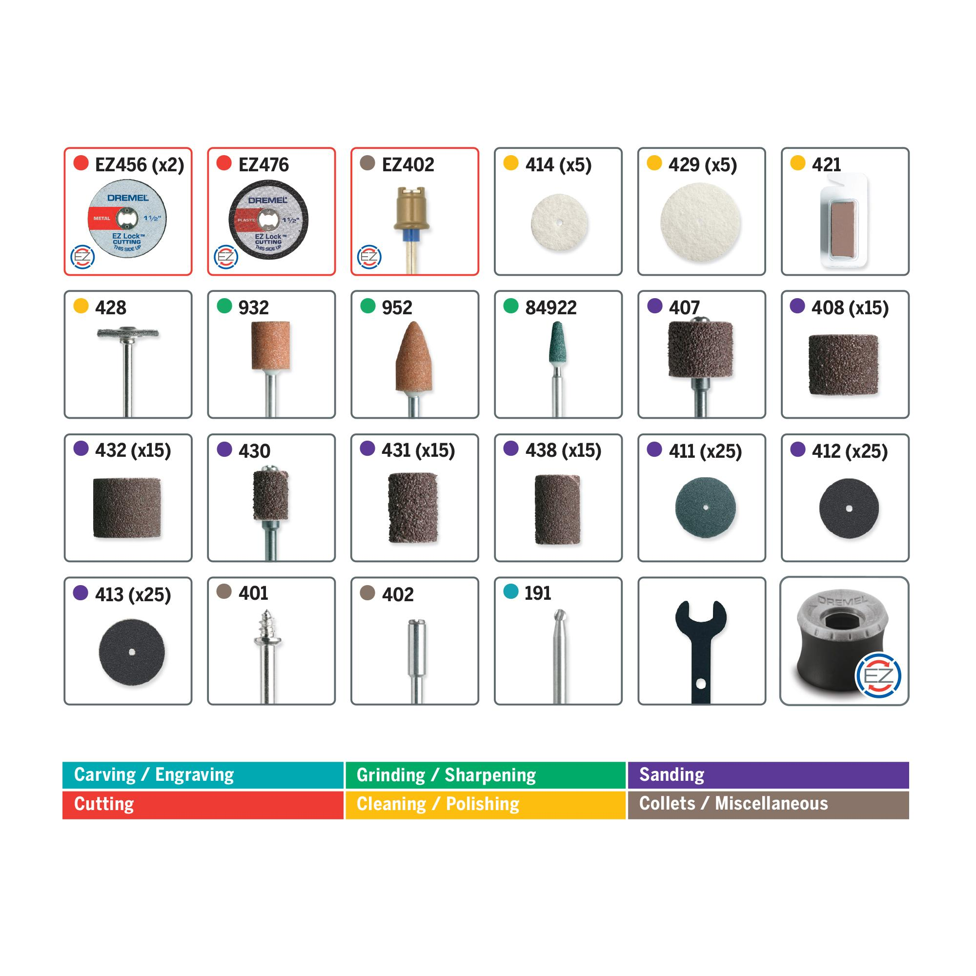 Dremel 710-08 All-Purpose Rotary Accessory Kit, 160-Piece - - Amazon.com