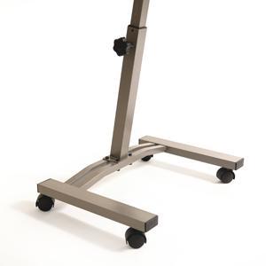 movable laptop desk slanted table top rolling wheels writing tools home office ebay. Black Bedroom Furniture Sets. Home Design Ideas
