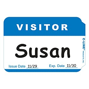 C-Line Visitor Badges
