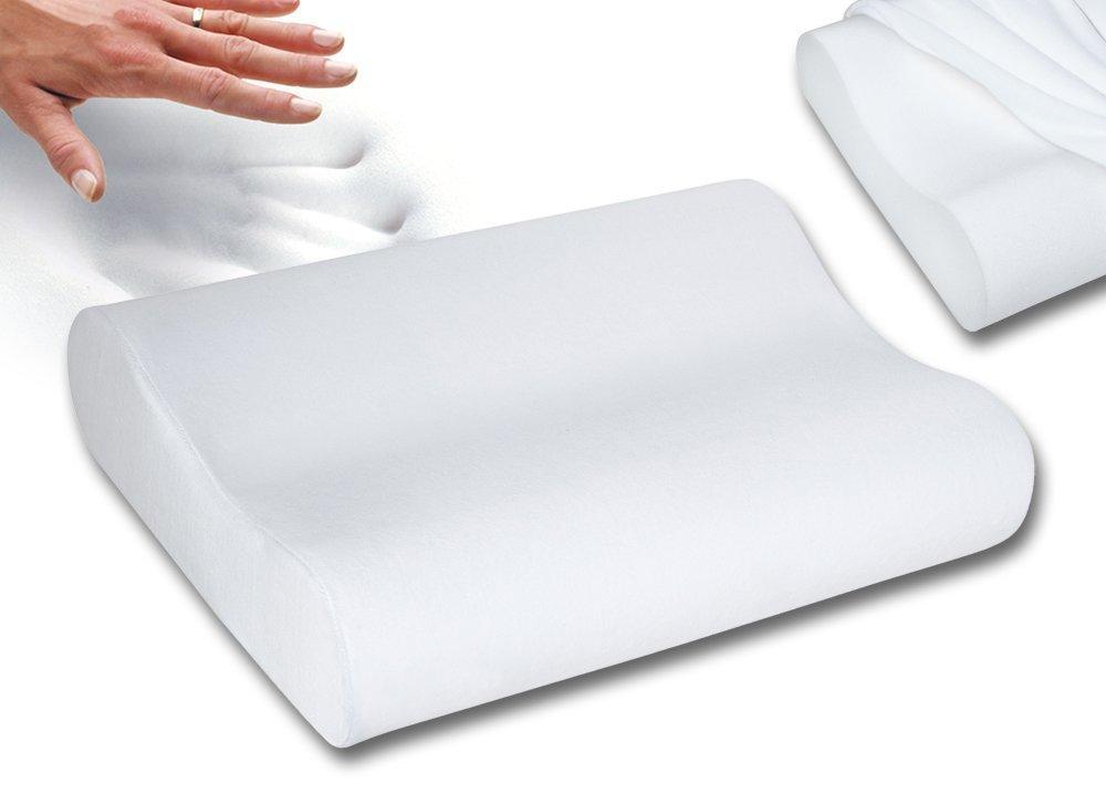 Amazon.com: Sleep Innovations Contour Memory Foam Pillow ...