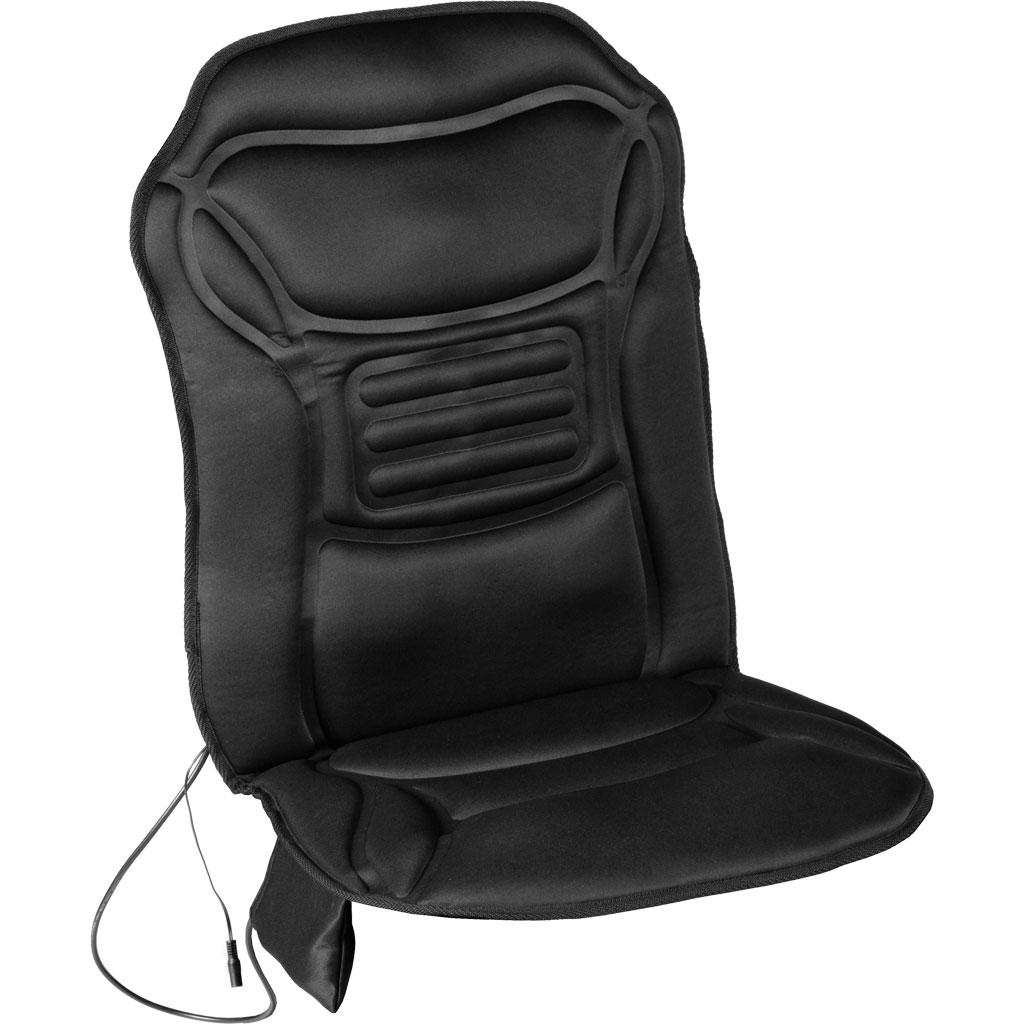 Heated Back Chair Cushion Car Seat Home Pad Pain Lumbar Neck Shoulder Massage