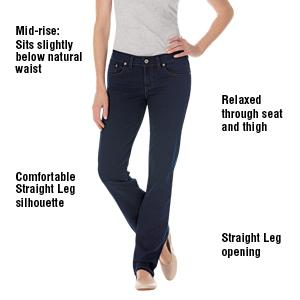 Relaxed Straight Fit Jean