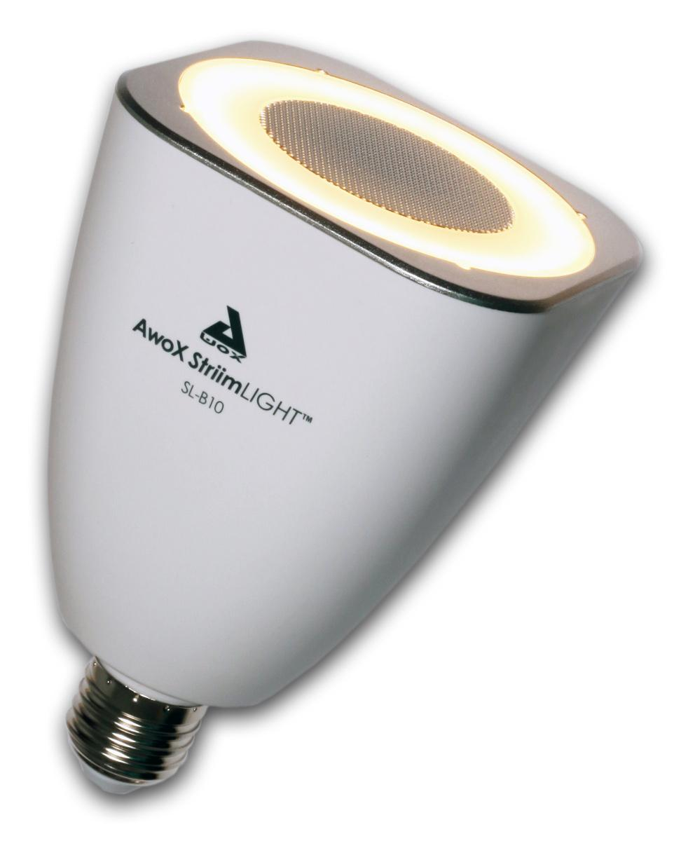 Amazon.com: AwoX StriimLIGHT 8W E26 LED Light Bulb With Integrated Bluetooth Speaker: Electronics