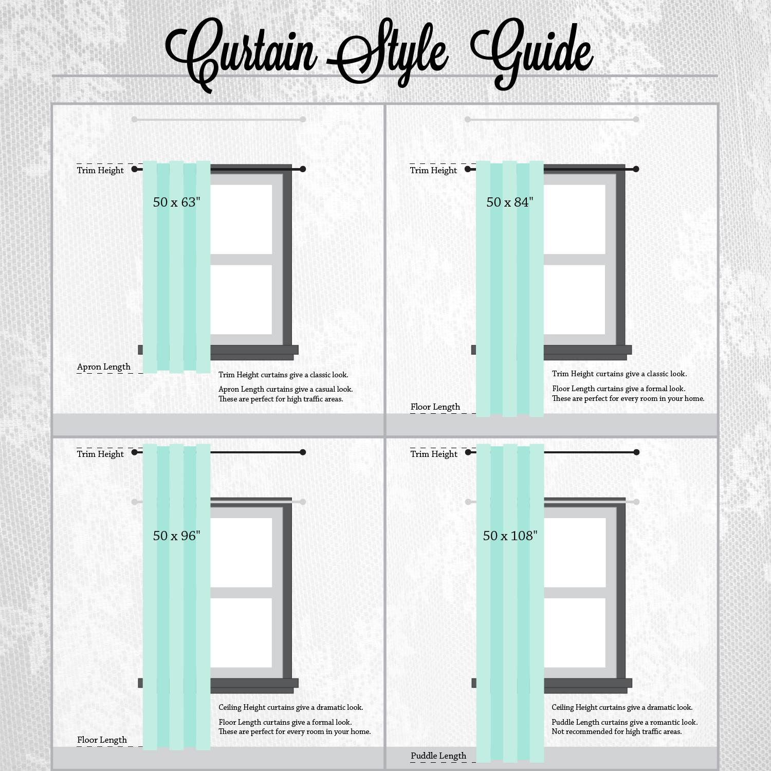 ideas about Curtain Length on Pinterest | Curtains, Blackout Curtains ...