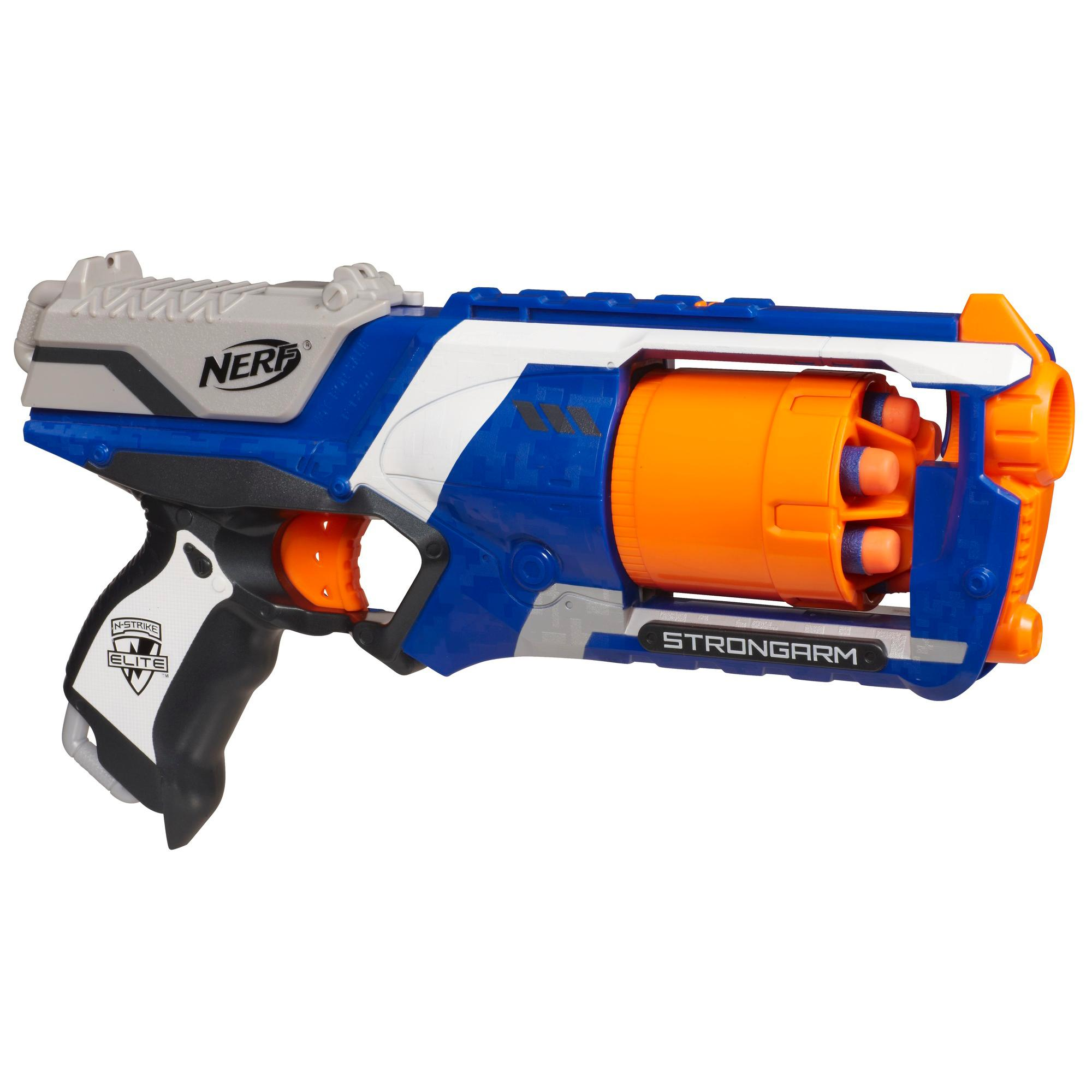 NEW Nerf N Strike Elite Strongarm Blaster Gun Dart Toy Darts Colors Vary May